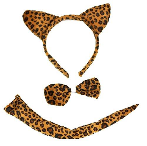 Brown (Leopard Costume Accessories)