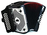 Hohner 3100FB, Panther, 3-Row FBE Diatonic Accordion
