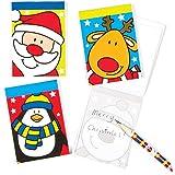 Block-notes Amici delle feste da Regalare alle Feste dei Bambini per Giocarci (confezione da 8)