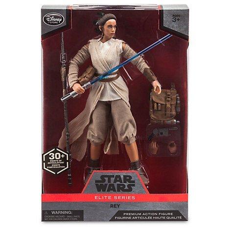 Star Wars Elite Series Rey Premium Action Figure - 10