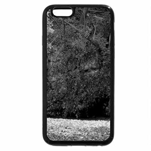 iPhone 6S Plus Case, iPhone 6 Plus Case (Black & White) - Autumn Waterfalls