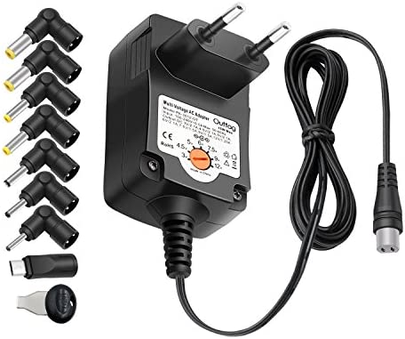 Outtag 15W Cargador Universal 3V 4.5V 5V 6V 7.5V 9V 12V Adaptador Adaptateur de pared AC Power Fuente de alimentación para BT Altavozs Routers CCTV ...