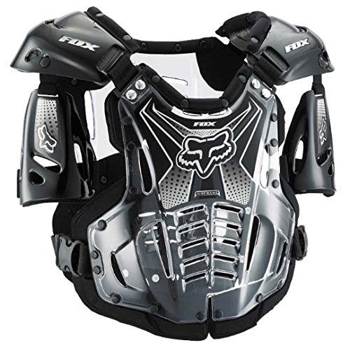 - Fox Racing Airframe Men's Roost Deflector Off-Road Motorcycle Body Armor - Black/X-Large
