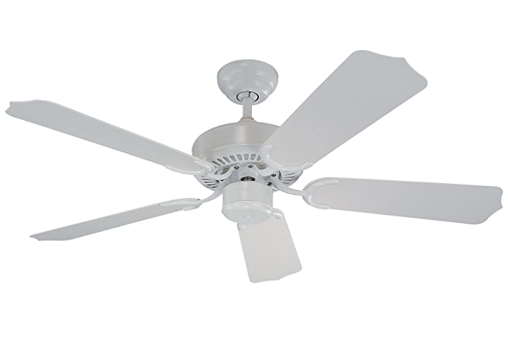Monte Carlo 5WF42WH Weatherford II Outdoor Ceiling Fan 42