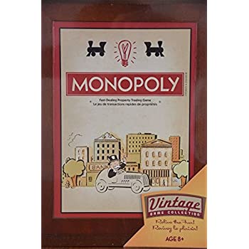 Amazon Com Monopoly Vintage Game Collection Toys Amp Games