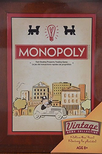 Monopoly Vintage Game Collection