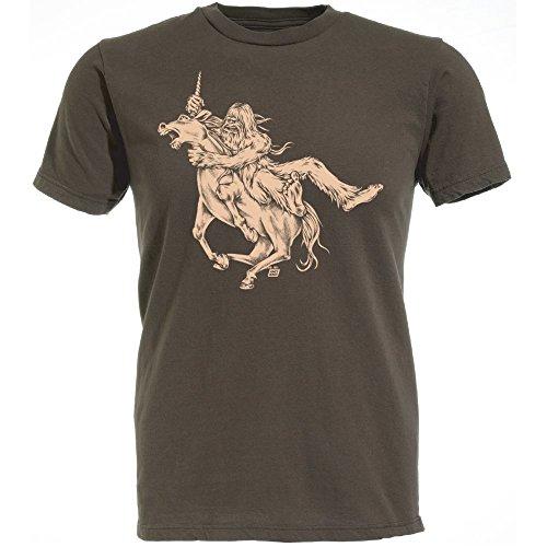 Wholesale Ames Bros Bigfoot vs Unicorn T-shirt hot sale