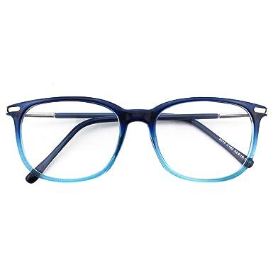 gran venta 8f21c 28096 CGID CN79 Retro Anteojos Lente Claro Gafas Para Mujer y Hombre