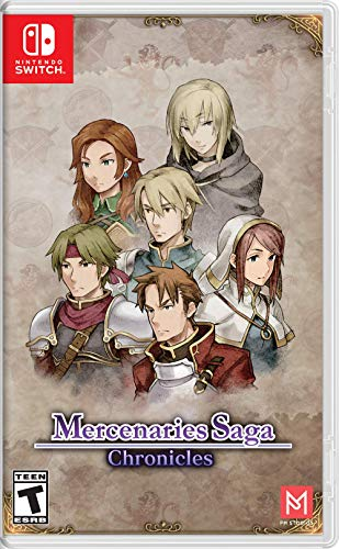 Mercenaries Saga Chronicles – Nintendo Switch