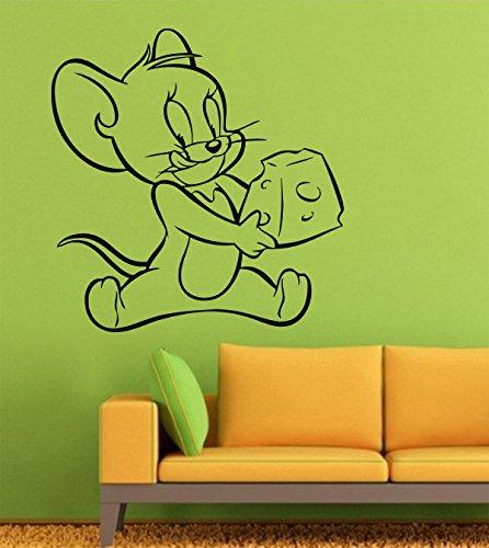 Copripiumino Tom E Jerry.Tom And Jerry Wall Decals Decor Vinyl Stickers Gmo5705