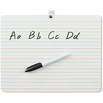 Amazon.com : Board Dudes Double Sided Dry Erase Lapboard 9