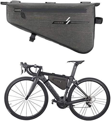 防水性と耐摩耗性の自転車自転車アッパーチューブバッグマウンテンバイクロードバイクフロントフレームバッグ