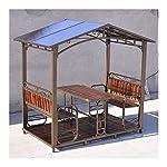 HLZY Gazebo Permanente per Patio Lawn, Patio Gazebo Outdoor Canopy Gazebo Backyard Creations, Patio Padiglione per… 51rjXZVFdaL. SS150
