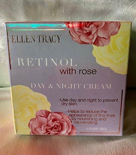Ellen Tracy Retinol with Rose Day/Night Cream to prevent dry skin. 1.77 - Rose Ellen