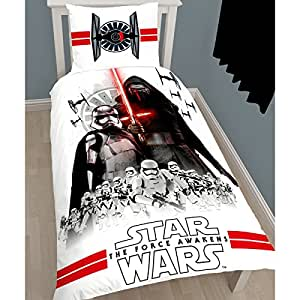 Star Wars-The Clone Wars Set ropa de cama Blanco -