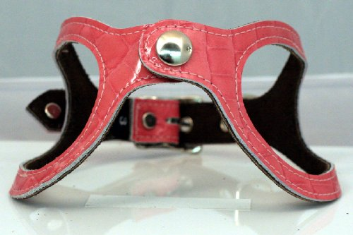 Recycled Leather Eco Friendly Step-In Dog Harness by Scrappy (Buddy Belt Leather)