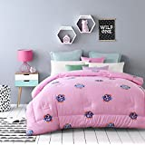 bed/bedding Warmth Full/Queen/Full/Twin Size Comforter Duvet Insert,Hypoallergenic Box Stitched,Feather Velvet Cotton Printing duvet Core,Smile,200×230cm(3.2Kg)