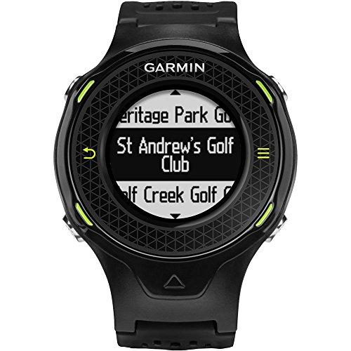 Garmin Approach S4 Golf GPS Hi Res Wrist Watch, Black (Renewed)