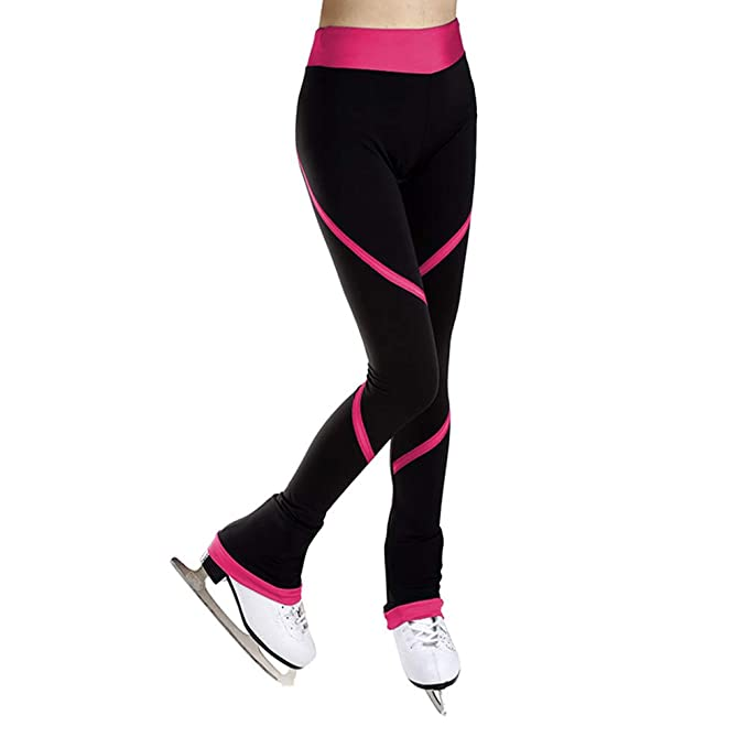 Amazon.com: Pantalones de patinaje con figura – Leggings ...