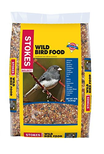 Types Of Backyard Birds (Stokes Wild Bird Food Select Bag, 10 lb)