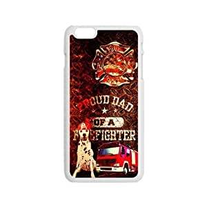 Generic Custom Unique Otterbox You Deserve--American Flag Firefighter Emblem in Flames Fire Rescue Symbol Plastic Case Cover for the iPhone6 4.7inch wangjiang maoyi by lolosakes