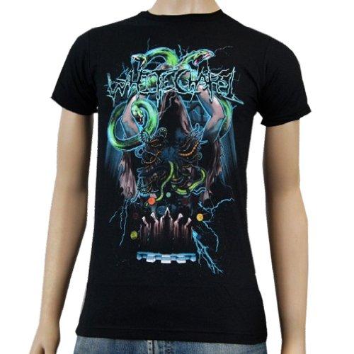 WHITECHAPEL - Druid Snake - Black T-shirt - size X-Small