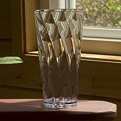 Optix Clear Plastic Cups | Set of 8