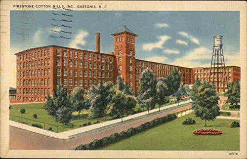 firestone-cotton-mills-inc-gaston-north-carolina-original-vintage-postcard