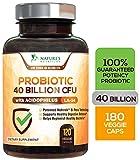 Probiotic 40 Billion CFU. Guaranteed Potency Until Expiration - 15x More Effective, Delay Release, Lactobacillus Acidophilus, Made in USA, Non-GMO, for Women & Men - 120 Capsules