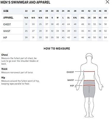 Speedo Men's Xtra Life Lycra Rapid Splice Jammer Swimsuit