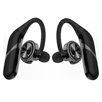 ParaCity Twins - Auriculares inalámbricos inalámbricos inalámbricos Bluetooth 4.2 para negocios IPX6, impermeables, 3D, estéreo, cancelación de ...