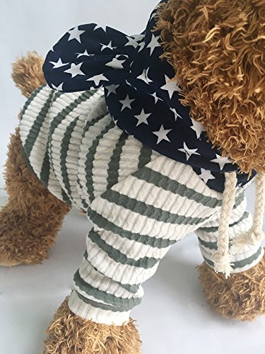 Pictures of EastCities Pet Clothes Dog HoodiesSmall Dogs CatGreen 6