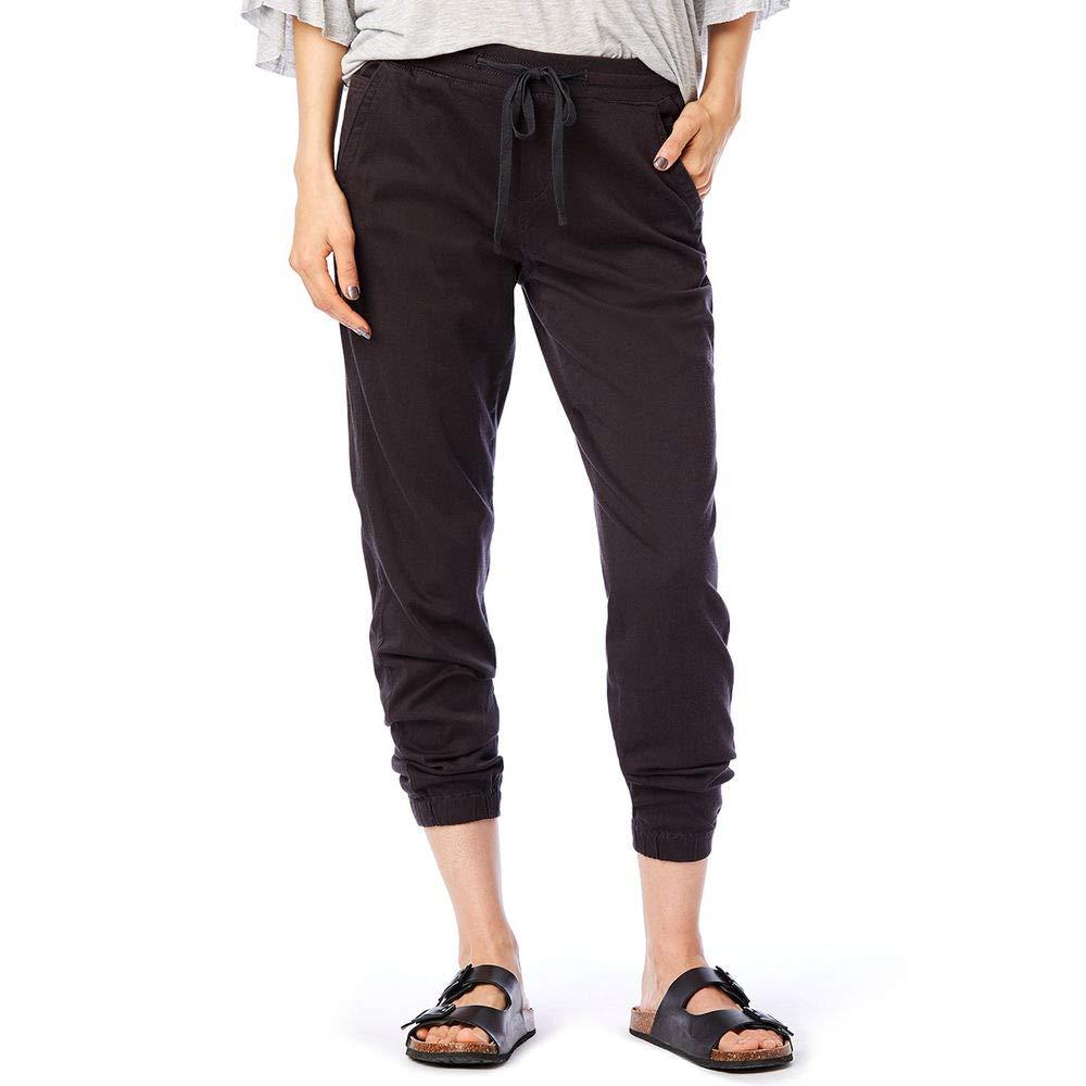 UNIONBAY Women's Ashbey Soft Stretch Sateen Jogger, Dark Galaxy Grey, M