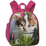 Unisex Baby Kid Cute-Baby-Cat Pre School Bag Backpack Satchel Rucksack Handbag Pink