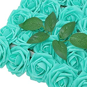 Wrapables Artificial Rose Flower, Real Touch Flowers for DIY Wedding Bouquets and Centerpieces 40