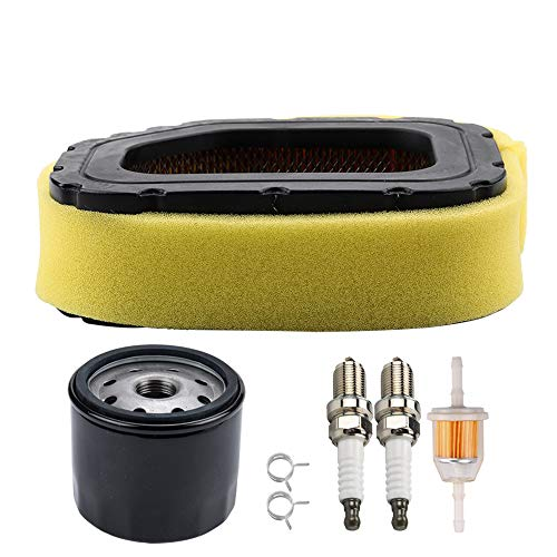 Kuupo 32 083 03-S Air Filter Pre Cleaner with 12 050 01-S Oil Filter Stens 120-436 Fuel Filter for SV710 SV715 SV720 SV730 SV735 SV810 SV820 SV840 Engine John Deere MIU11943 Toro 98019 Lawn Tractor ()