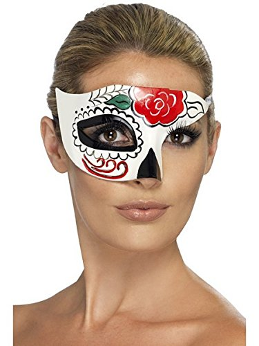 Day of the Dead Half Eyemask (Day Of Dead Mask)