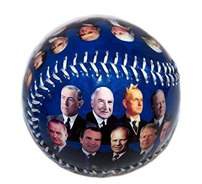 President's of the US Vinyl Baseball