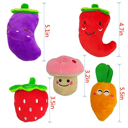 TuhooMall-12-15cm-47-6-Inch-Squeaky-Fruits-and-Vegetables-Plush-Puppy-Dog-Toys-for-Small-Dogs