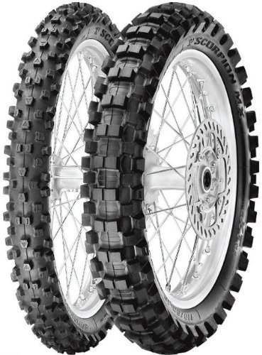 Pirelli Scorpion MX eXTra J Tire - Rear - 90/100-16 , Position: Rear, Tire Size: 90/100-16, Rim Size: 16, Load Rating: 51, Speed Rating: M, Tire Type: Offroad, Tire Application: Intermediate 2134100 by Pirelli (Image #1)