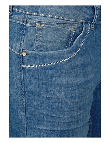Pantalones Para 10239 Mujer Used Wash Azul Cecil authentic 4BpxzBn