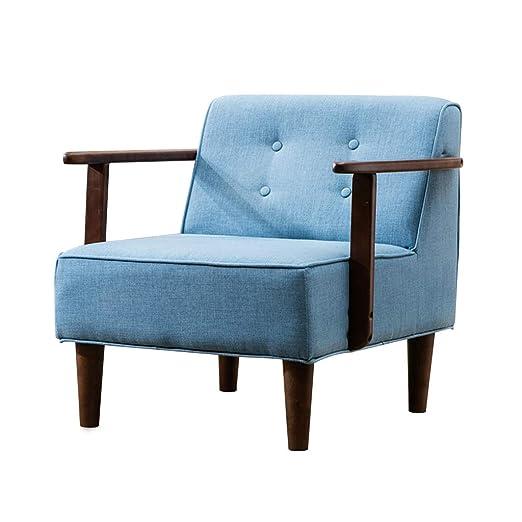 Sofá Individual de Moda, sillón, Relleno de Esponja para ...