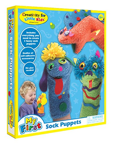 Creativity for Kids My First Sock Puppets (Halloween Costumes Make Your Own Easy)