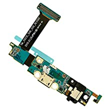 BisLinks® USB Dock Port Charging Charger Flex Cable Replacement for Samsung Galaxy S6 Edge