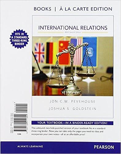 Amazon com: International Relations, Brief Edition -- Books
