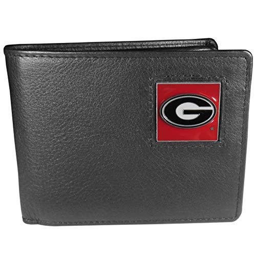 NCAA Georgia Bulldogs Leather Bi-fold Wallet
