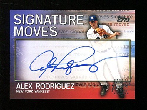Alex Rodriguez 2004 Topps Signature Moves Auto Card Yankees Mint 34999