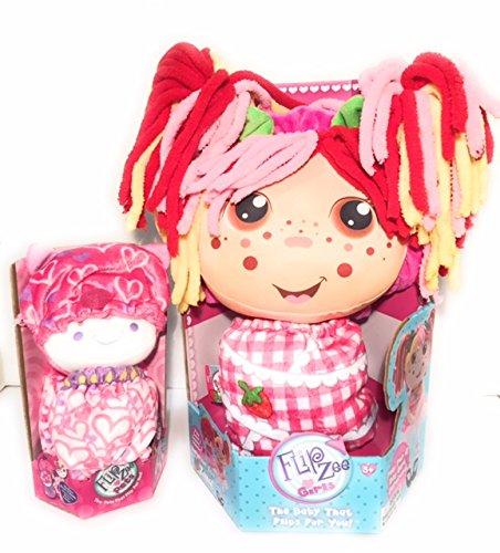 Girls Zana Flipzee Plush Doll with a Flipzee Pets Kitty