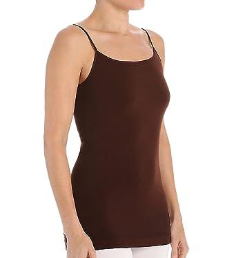 1c8f1de4dc0e7 Snug One Size Fits All Seamless Camisole (AP12808) O S Espresso at Amazon  Women s Clothing store