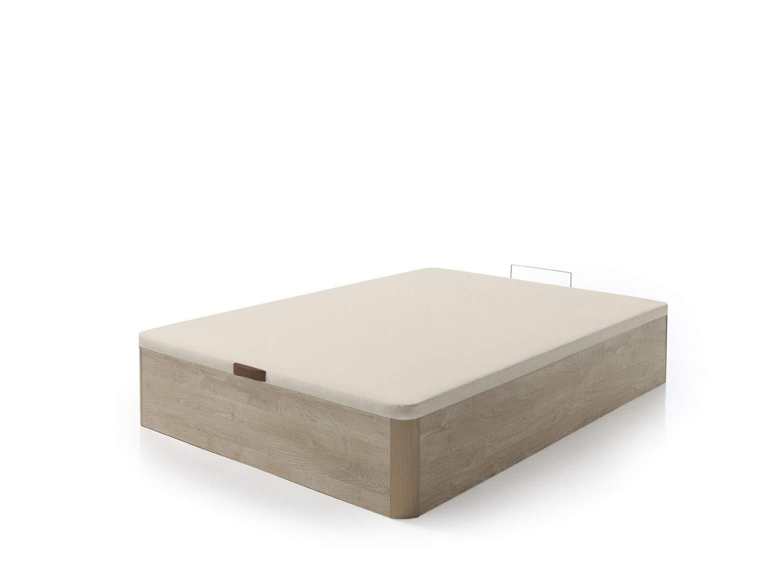 SERMAHOME- Canapé Modelo Teja Color Cambrian con Tapa tapizada 3D Beige. Altura del cajón: 32 cm. Medida 150 x 190 cm.: Amazon.es: Hogar
